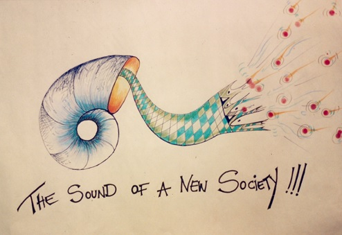 The sound of a new society