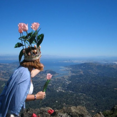 Eva on Mount Tam